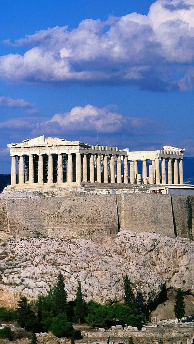 The Parthenon was constructed during the Classical Period. It was, and continues to be, considered the most perfect of all the Greek temples. It was made in honor of the goddess Athena because the Athenians believed that she helped them win the war agains the Persians.