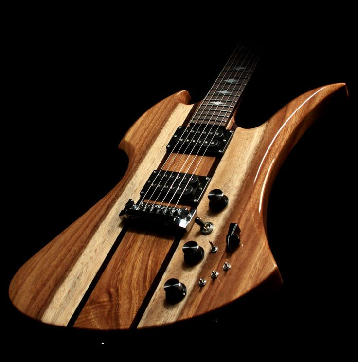 B.C. Rich Handcrafted Koa Mockingbird Deluxe