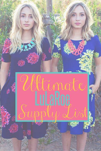 LuLaRoe Supplies List