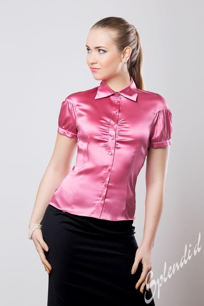 Pictures Of Satin Blouses 37