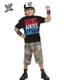 Boy's Deluxe WWE John Cena Costume S - #halloween #halloweencostumes #costumes -   Your little wrestling fan can look just like his favorite WWE champion when he wears the Boy's Deluxe WWE John Cena Costume. This costume includes a black t-shirt with