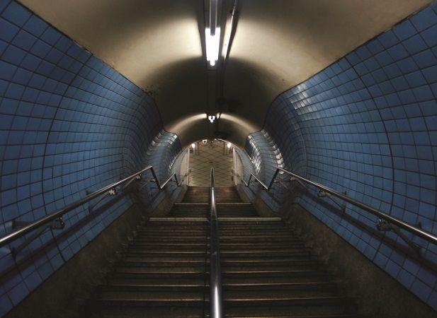 Tipico accesso alla #London #Tube #Londra