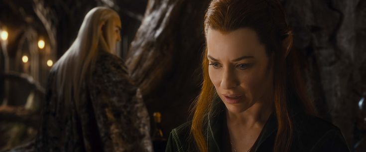 Tauriel, a Silvan Wood-elf of Mirkwood, is a character of The Hobbit film trilogy. She is a captain of the Elven guard of Thranduil's woodland realm. Tauriel is played by the actress Evangeline Lilly. She first appears in The Hobbit: The Desolation of Smaug as a captain of the Mirkwood Elven Guard. Throughout the film, a subplot develops involving possible romance between her and Kíli. She rescues Kíli after the Dwarves are ambushed by Giant Spiders as she leads what we later learn is…
