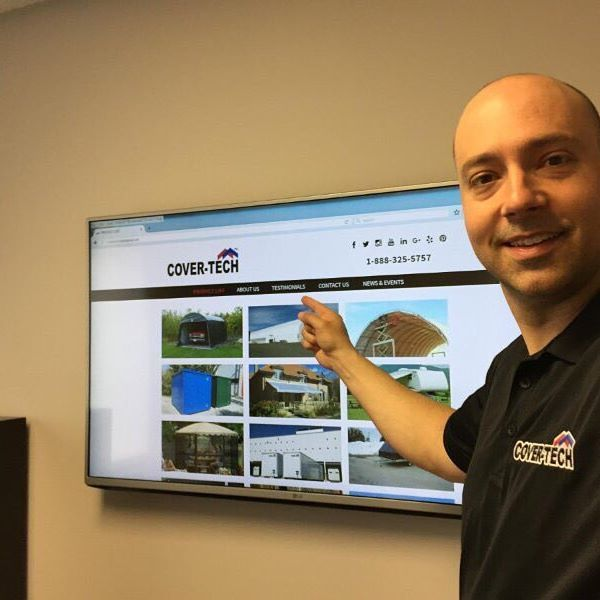Sneak Peak! New website launching soon, just finishing up the fine details. Stay tuned for exciting giveaways!  www.cover-tech.com  .  .  .  .    #website #sneakpeak #selfie #tarps #shelters #awnings #containers #digitalmarketing #business #newbrunswick #webdesign #dealerswanted