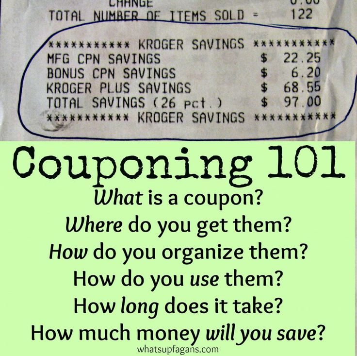 Where can you get coupons for groceries