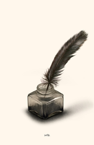 Write // Ink & Quill by Amy Hamilton