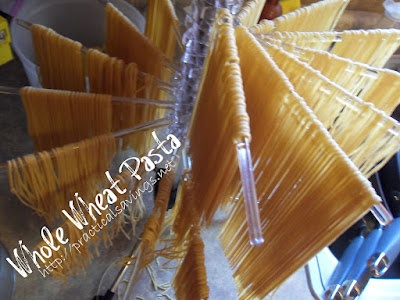 {Recipe} Homemade Whole Wheat Pasta – Kelly (Practical Savings)
