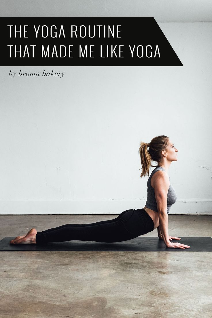 Find out how this yoga-hating girl became a yoga super-fan! - 3 yoga flow sequences