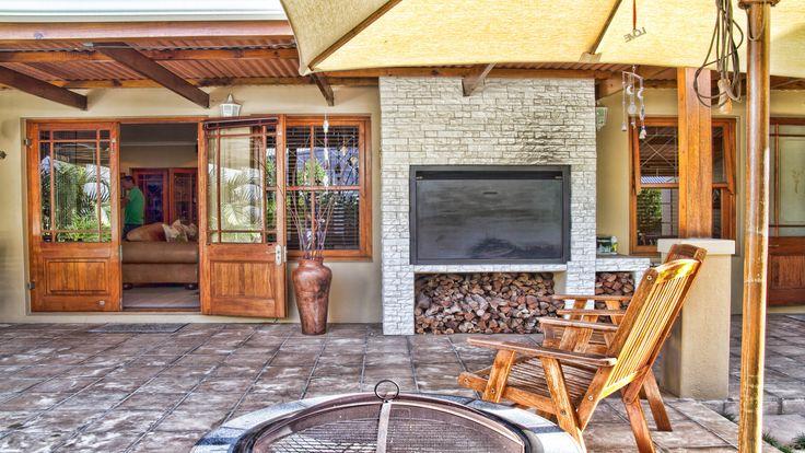 Undercover patio and braai #braai #patio #outdoors #outdoor #outdoorliving #paarl #luxury #summer