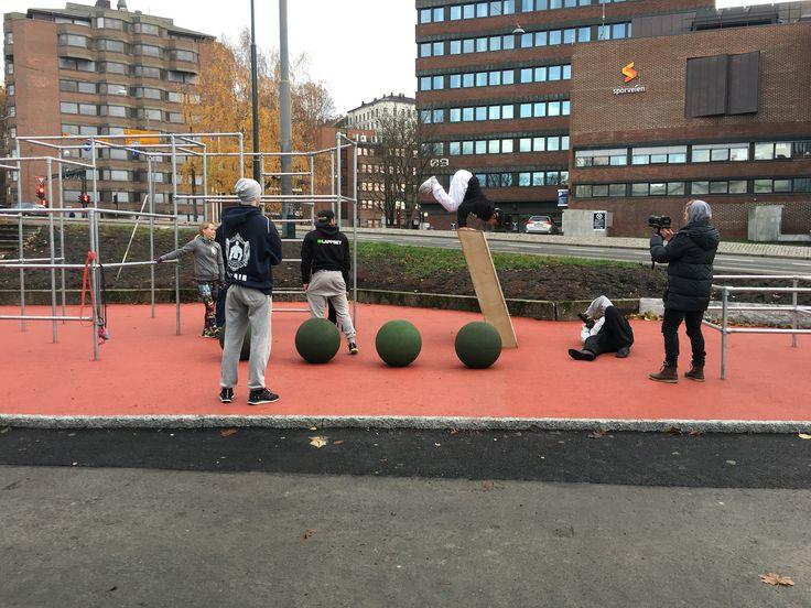 Tøyen parkourpark #OpplevOslo 2015 | by Bymiljøetaten