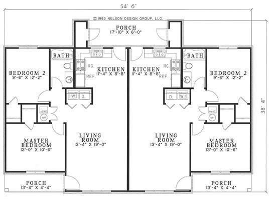 75 best multi unit plans images on pinterest little for Multi unit floor plans