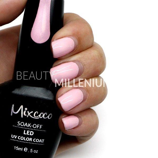 #Mixcoco #gellak #027 'Pretty Pink' verkrijgbaar via www.beautymillenium.nl - prijs €14,95 ✨ minimaal 2 weken lang prachtig gelakte #nagels met #MixcocoGellak #nails #gelnails #manicure #gelmanicure #nailart #gellish #gellac #gelish #gelnagellak #mani #nailartclub #beauty #nailpolish #nudenails #pinknails