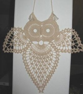 awesome pattern to crocheted owl