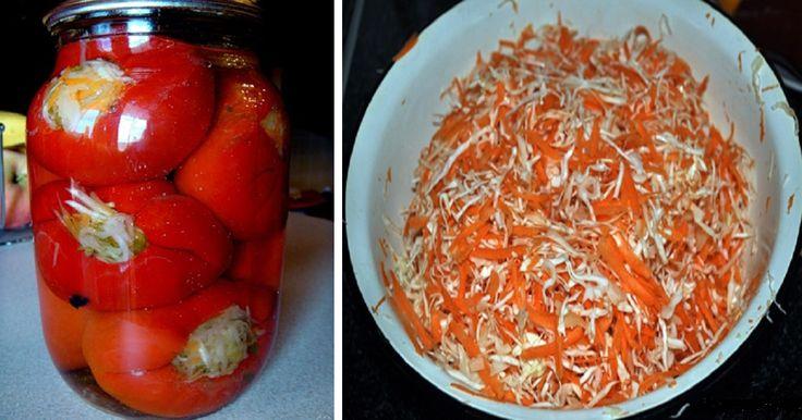Egyszerű Gyors Receptek » Blog Káposztával töltött paprika, fenséges savanyúság, ami gyorsan elkészíthető! | Egyszerű Gyors Receptek