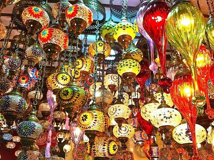 Global village- awesome Middle Eastern Flea market.