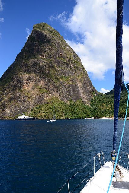 Karibik (Piton, St. Lucia) been there ..beautiful
