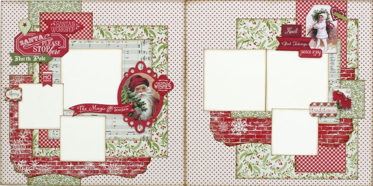 Magic of the Season-Christmas Two Page Layout Kit