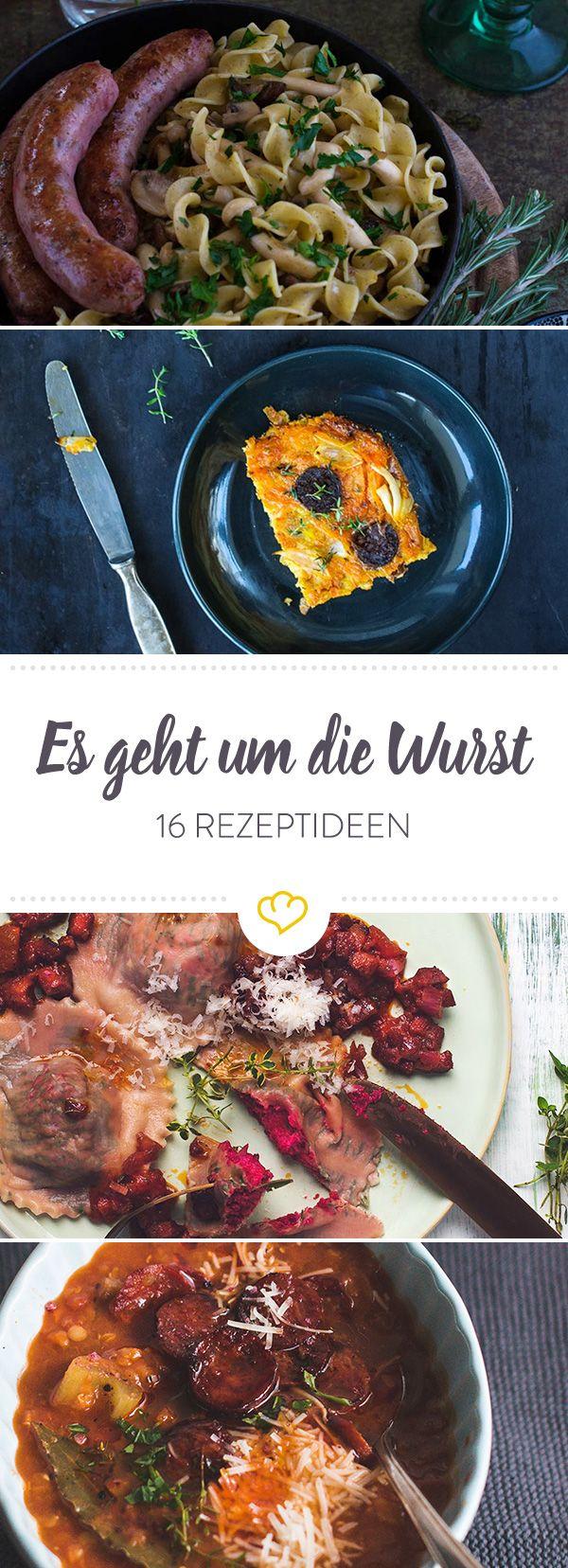 Wenn sie auf dem Grill brutzeln, bekommt jeder heftigen Würstchen-Hunger. Aber auch im Eintopf oder in der Pastasauce machen sie eine gute Figur. 16 Ideen