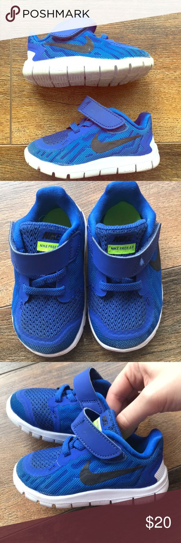 Toddler NIKE shoes! NiIKE Free 5.0 for your toddler! So cute! Great condition! For boy or girl :) size 5c Nike Shoes Athletic Shoes