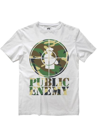 Amplified Public Enemy  T Shirt