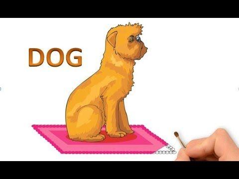 Як намалювати собаку, що сидить, як намалювати сидячого собаку крок за к...