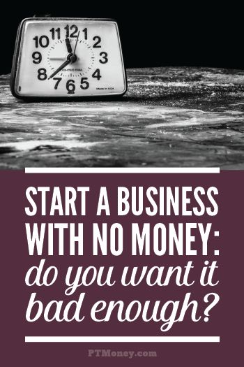 Want to know how to start a business with no money? It's not hard. Just pick the right business and get going. Staring a business with no money down isn't rocket science. Get one customer to help fund your first gig, then overwhelm them, ask for a referral and you're off.