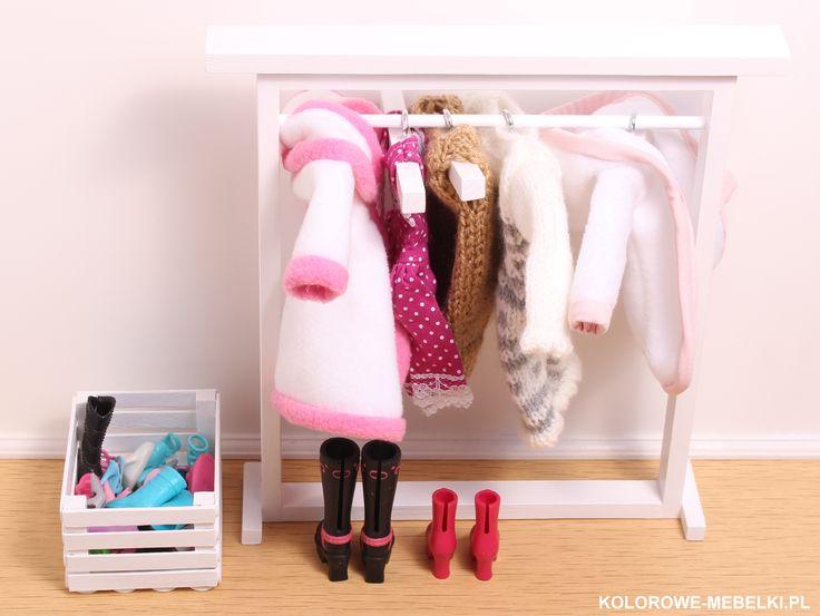 Mini garderoba.