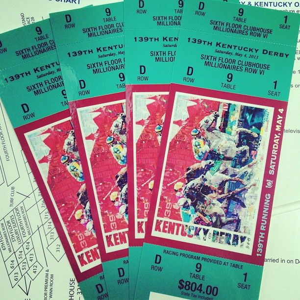 kentucky derby tickets millionaires row