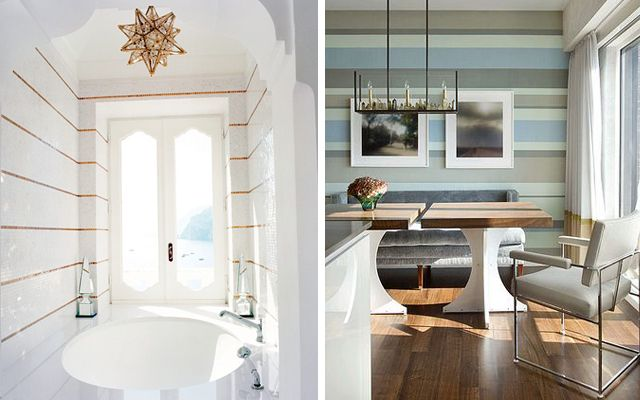 17 best images about decoracion on pinterest - Rayas horizontales ...