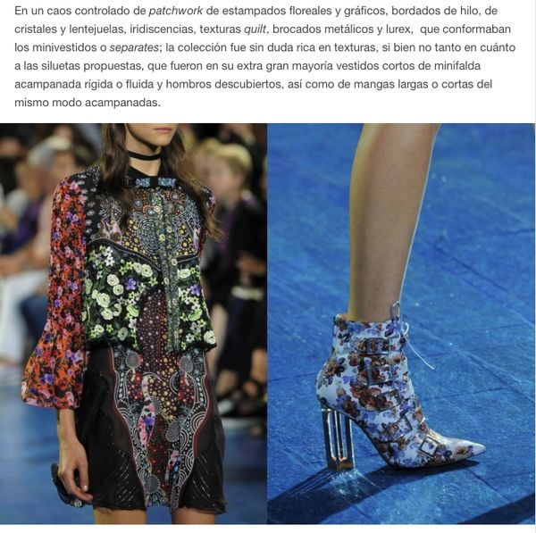 #LFW Mi review del desfile Mary Katrantzou Women's #SS2016 en mi blog MoodboardMuse.