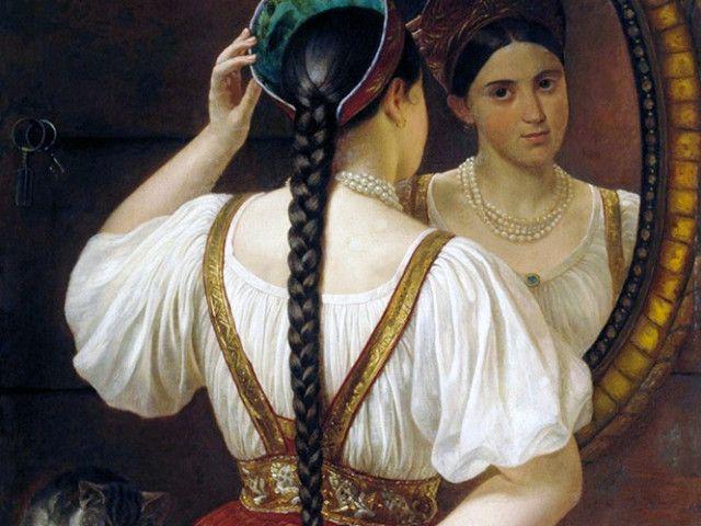 Долгое время женщины всех возрастов и всех сословий на Руси и в Московском государстве знали одну-единственную причёску – косу. Девушки украшали косы лентами или косником, женщины – закрывали...