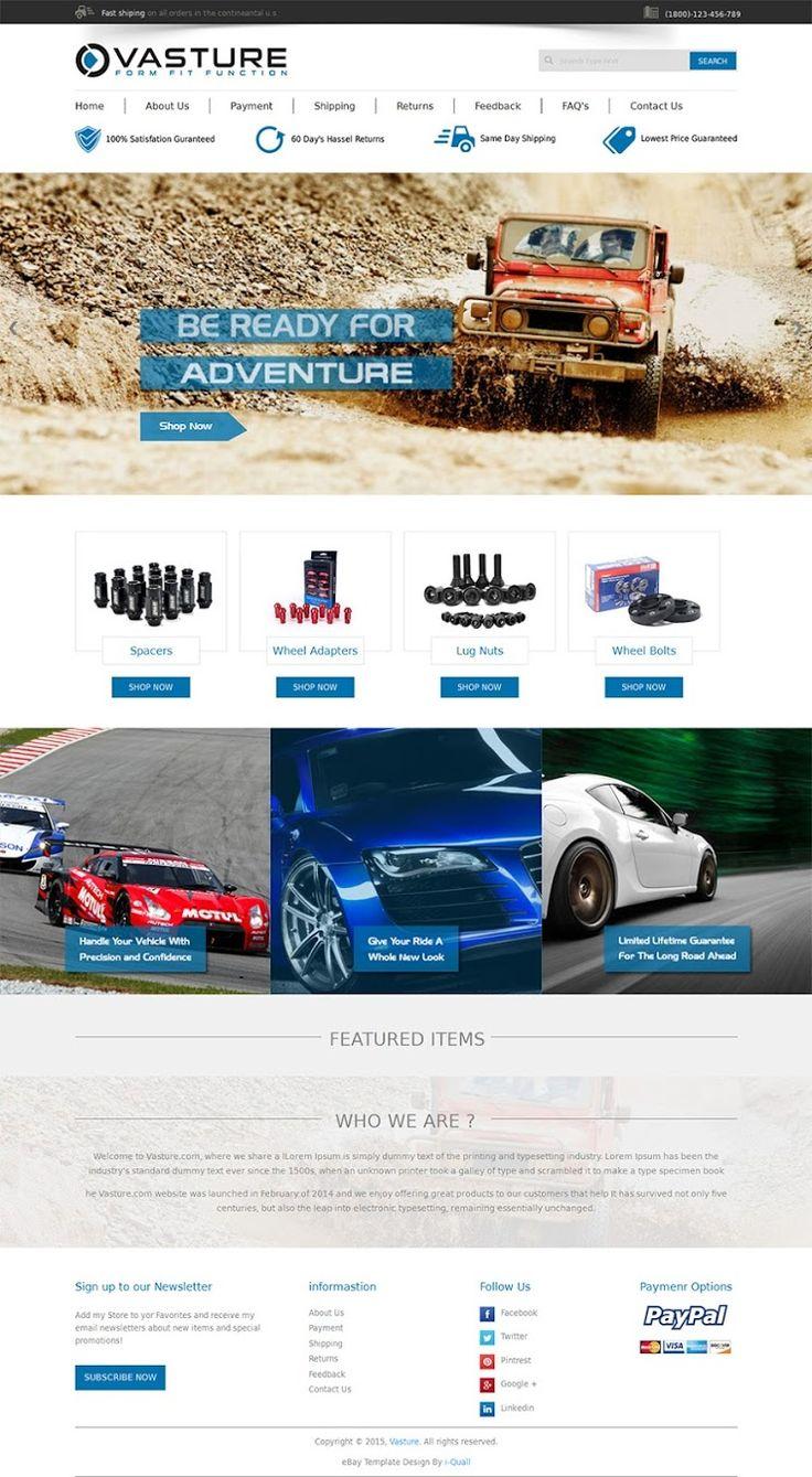 Best EBay Template Images On Pinterest Ebay Listing Template - Custom ebay store design template