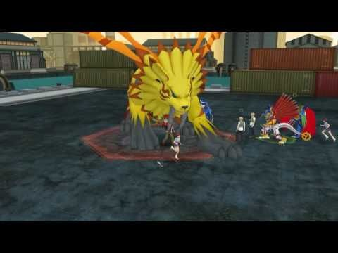 New Digimon Online Game! Digimon Masters!