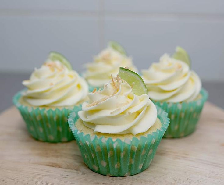 Coconut & Lime Cupcakes | Thermomix | RSPCA Cupcake Day