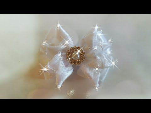 Mini laço de cetim - YouTube
