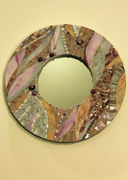 mosaic mirror circa 2011