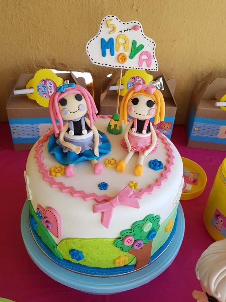 Lalaloopsy Cake 5 years old