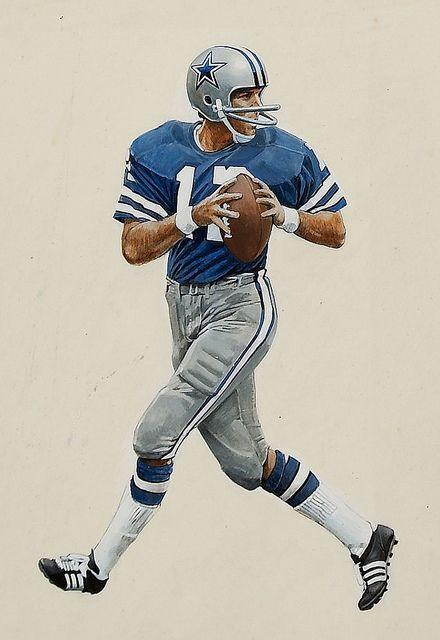 Dallas Cowboys Roger Stauback QB