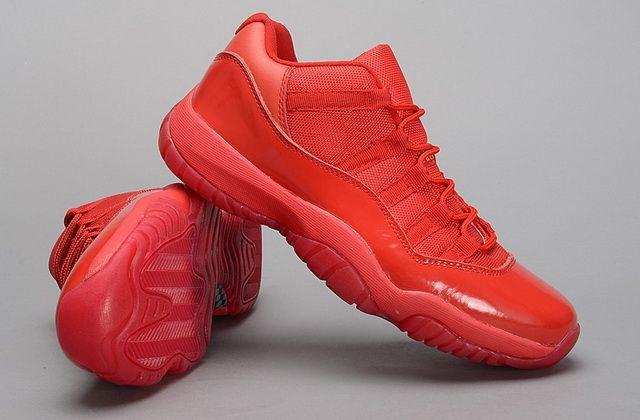 jordan 11 low all red