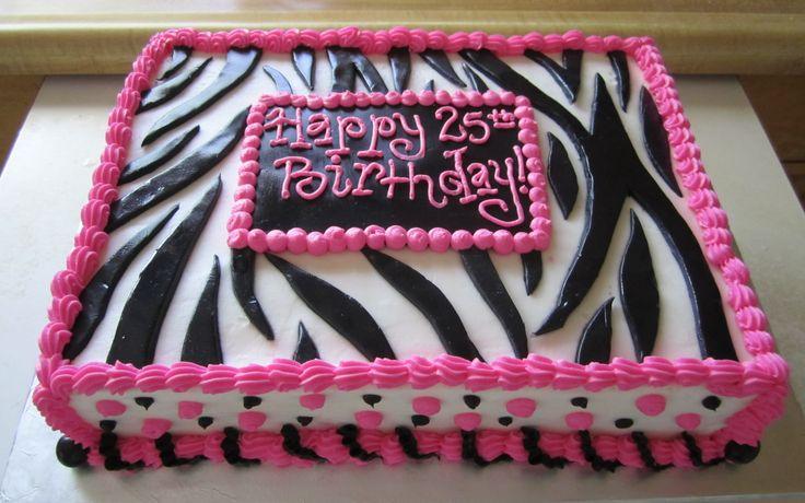 1000 Ideas About Birthday Cakes Women On Pinterest