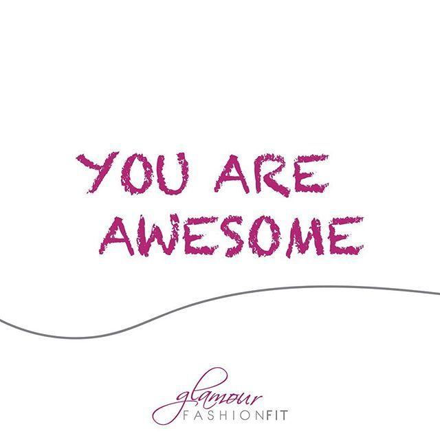 🇬🇧 Yes, you are awesome! 🇵🇹 Sim, você é incrível! #motivation