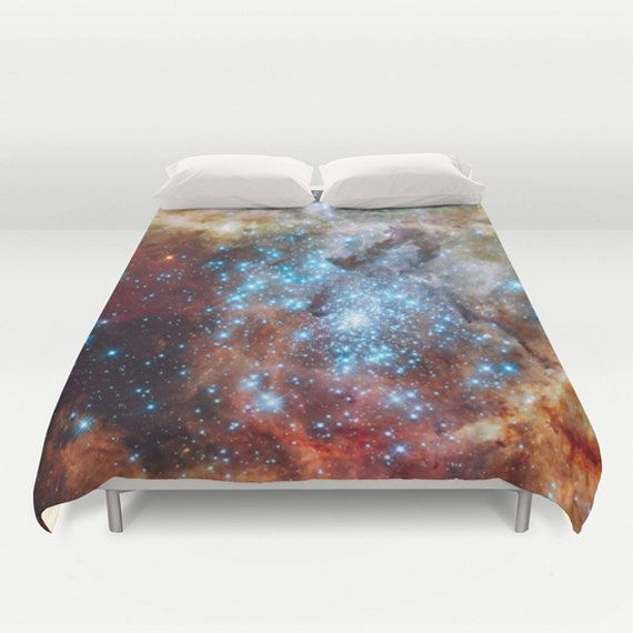 Star Cluster Duvet Cover by Suzanne Carter by SuzanneCarterArtist