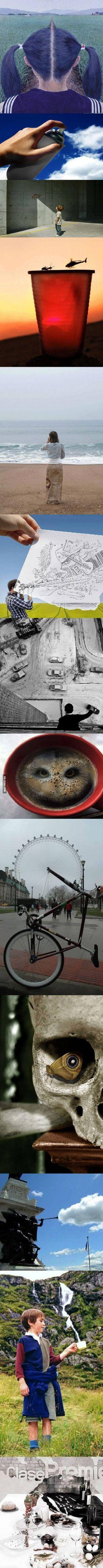 Amazing photo illusions                                                                                                                                                                                 More