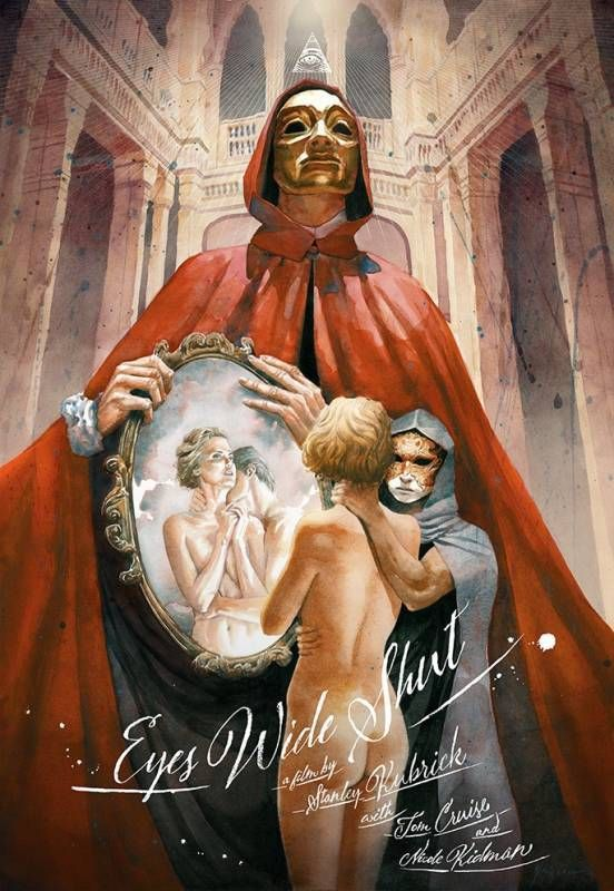 "kogaionon: "" Eyes Wide Shut by J.S. Rossbach / Facebook / Twitter / Tumblr / Instagram / Store 24"" x 36"" screen print, numbered edition of 75. Private commission, not for sale. """