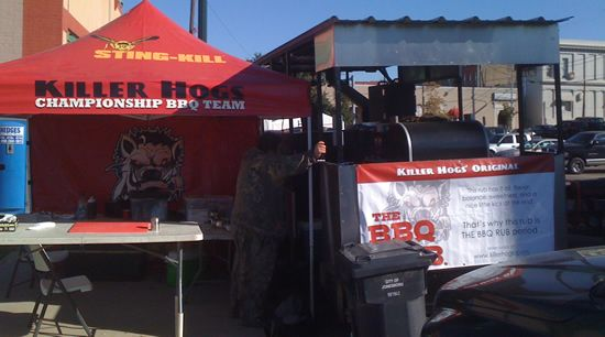 competition bbq tent and set-up, what you need list
