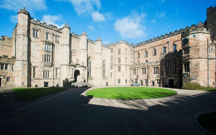Durham University's colleges vary from the ultra-modern to the medieval, such as University College's Durham Castle location shown here.  Picture: Rex