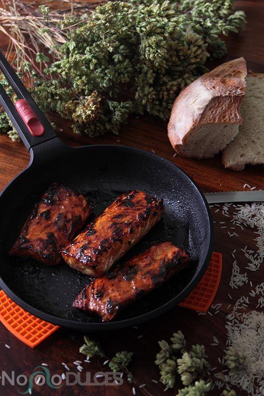 Descubre las nuevas sartenes Bra Infinity y esta receta de salmón con salsa teriyaki que te sorprenderá. Un toque asiático en tu cocina.