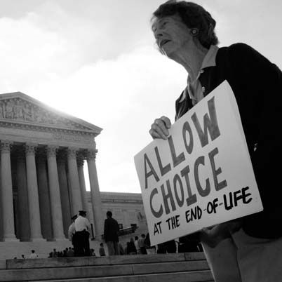 The fight for the right to die