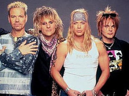 Poison. Wow! Got to love the hair band days!