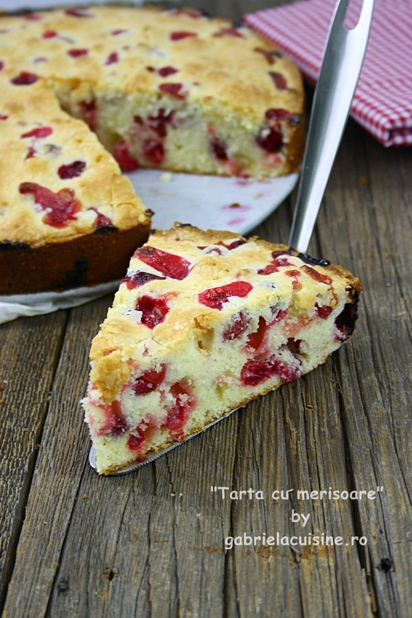 Tarta cu merisoare/ Cranberry tart - recipes